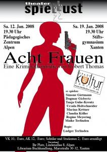 Plakat 8 Frauen